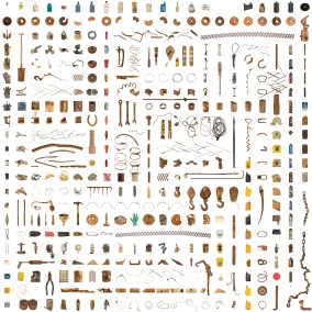 ButterFingers (513 Tools, rusty metals, or automotive items collected from the lakefront)