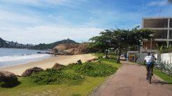 Praia da Enseada do Suá.