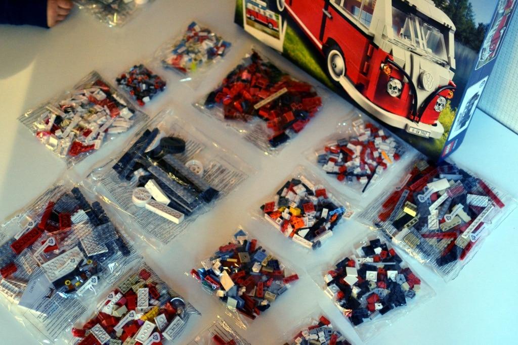 Combi split Lego Inventaire