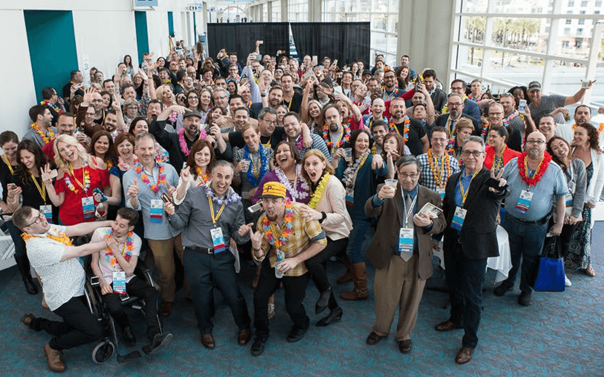 The People at Social Media Marketing World 2017 Photo Credit: SMMW Facebook Page