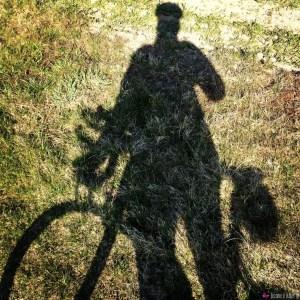 Mein Radschatten
