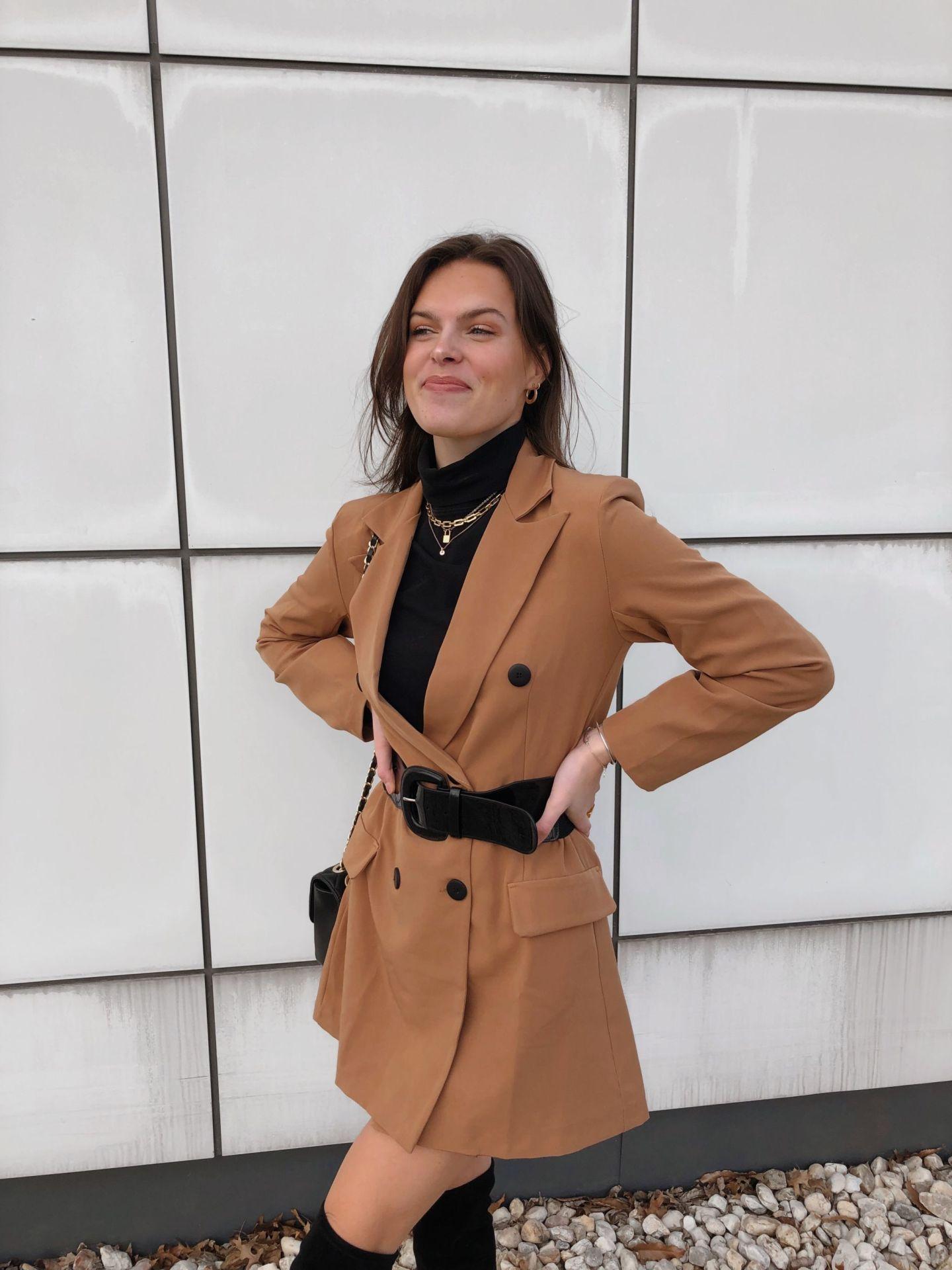 0d70d5efe9 Missy Empire Blazer Dress - Becoming Maggie