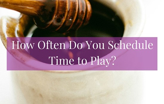 Do you schedule time to play? Discover how this simple practice can benefit your creativity >>> | www.becomingwhoyouare.net
