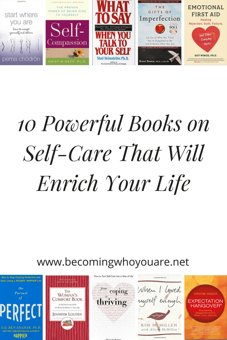 Upgrade your physical, emotional and spiritual wellbeing with these 10 powerful books on self-care to add to your bookshelf. Click the image to discover more.
