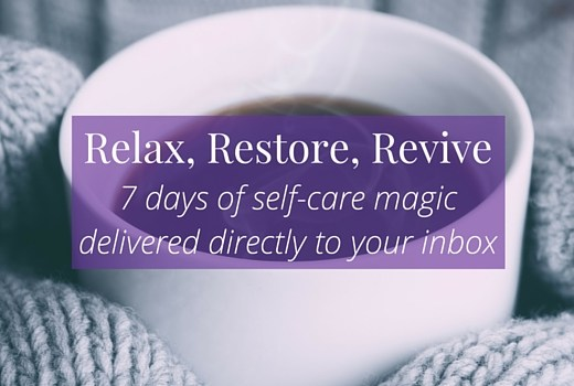 Click the image to find out more about Relax, Restore, Revive, a free self-care course from Becoming Who You Are >>> | www.becomingwhoyouare.net