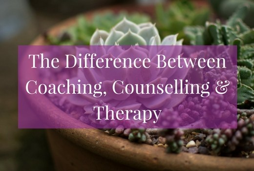 Wondering what the difference is between coaching, counselling and therapy? Click to find out >>>