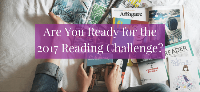 Want to read more this year? Here's a 2017 reading challenge to inspire you!