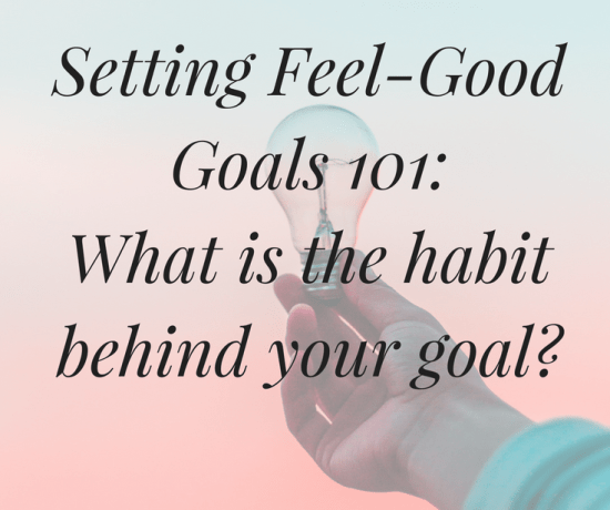 Did you know the success of your goal depends on identifying the habit behind it? Keep reading to find out why