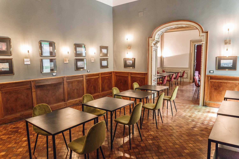 Relais della Porta, hotel Napoli (sala colazione)