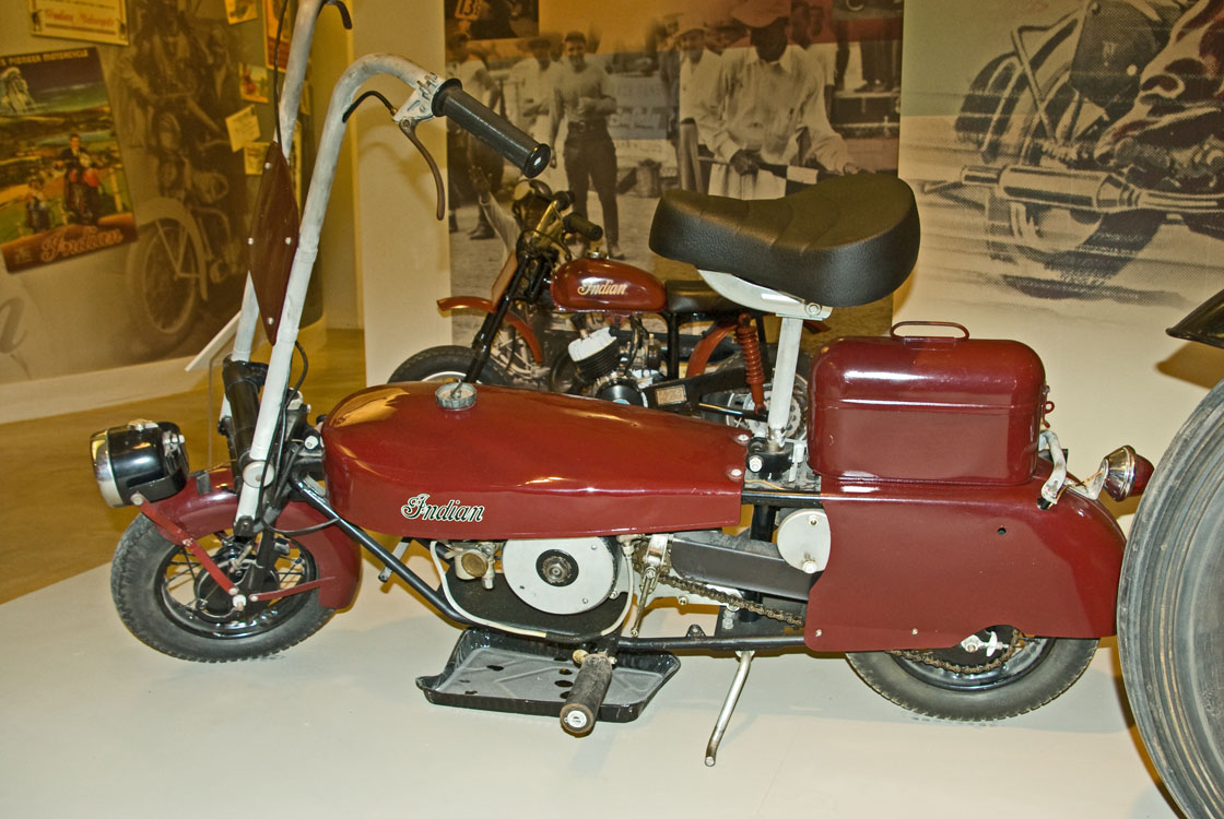 1951 Indian Warrior Motorcycle
