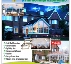 A4 magazine advert design for Cambs Windows & Home Improvements