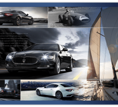 Maserati A4 Advert design for Lusso magazine