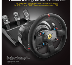 A4 magazine advert for Thrustmmaster