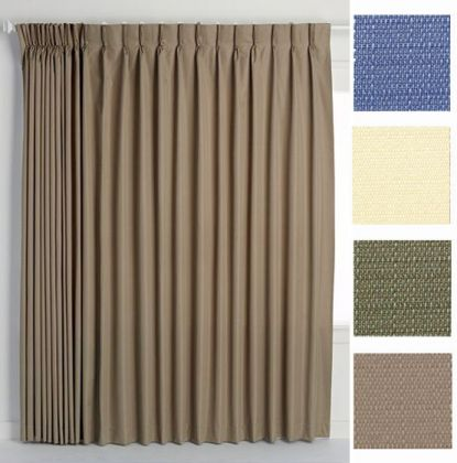 Crosby Thermal Insulated Pinch Pleat Drapery Altmeyers BedBathHome