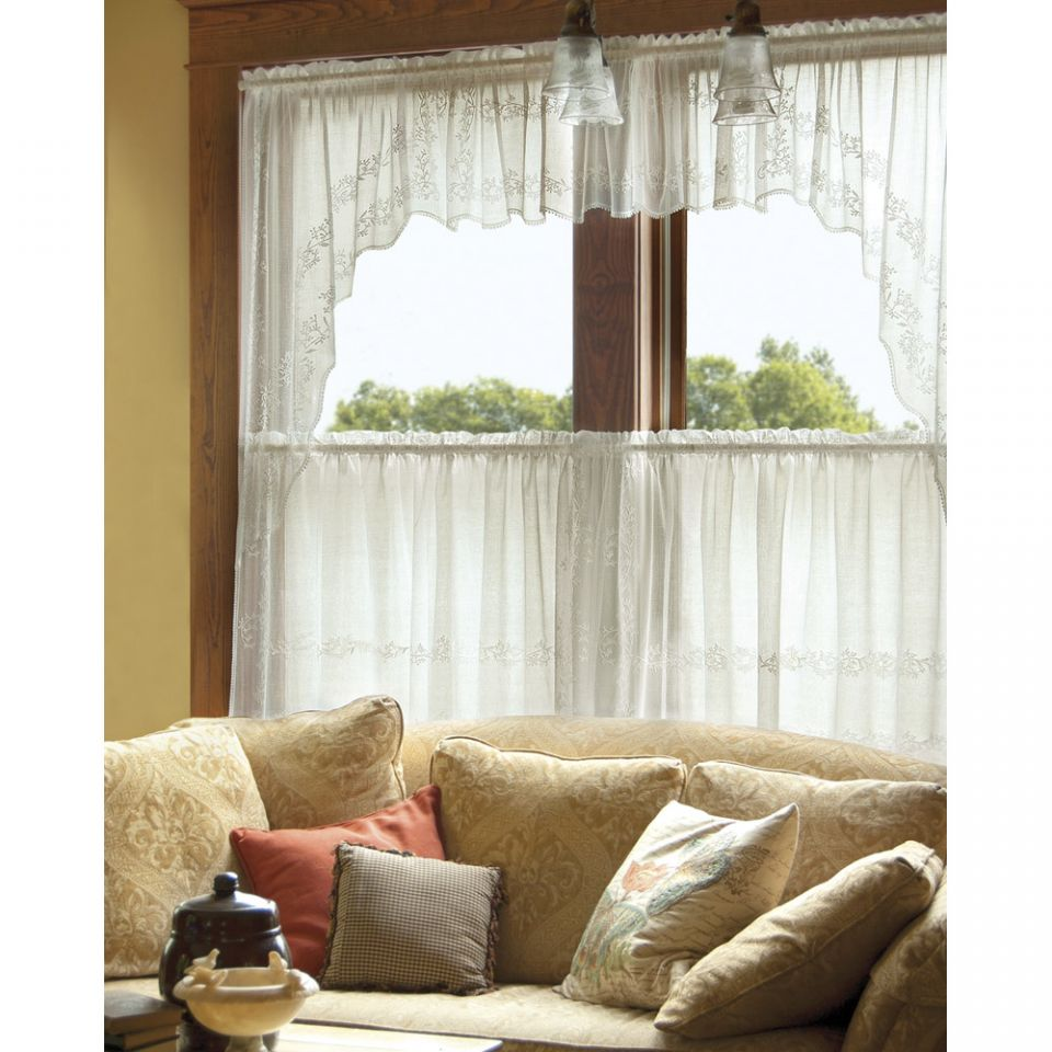 Heritage Lace Sheer Divine Curtains