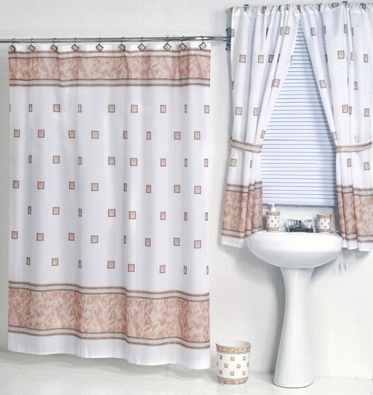 windsor ivory fabric shower curtain w available matching window curtain
