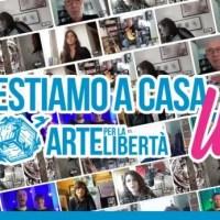 """Continuano le proposte artistiche in streaming di """"Arte per la libertà"""" con """"Restiamo a casa live"""""""