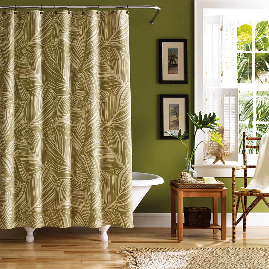 Tommy Bahama Montauk Drifter Shower Curtain From