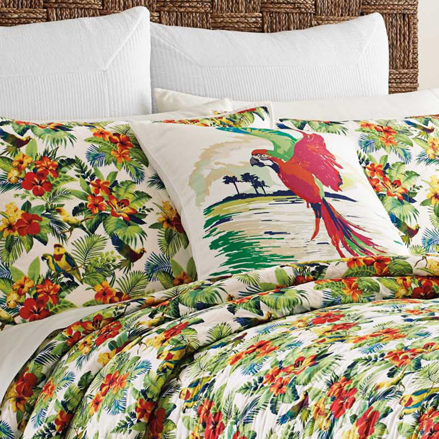 Tommy Bahama Parrot Cove Quilt From