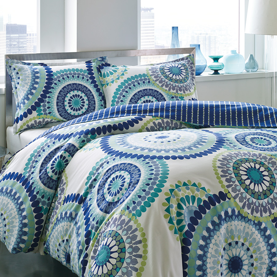 King Comforter Set (City Scene Radius)