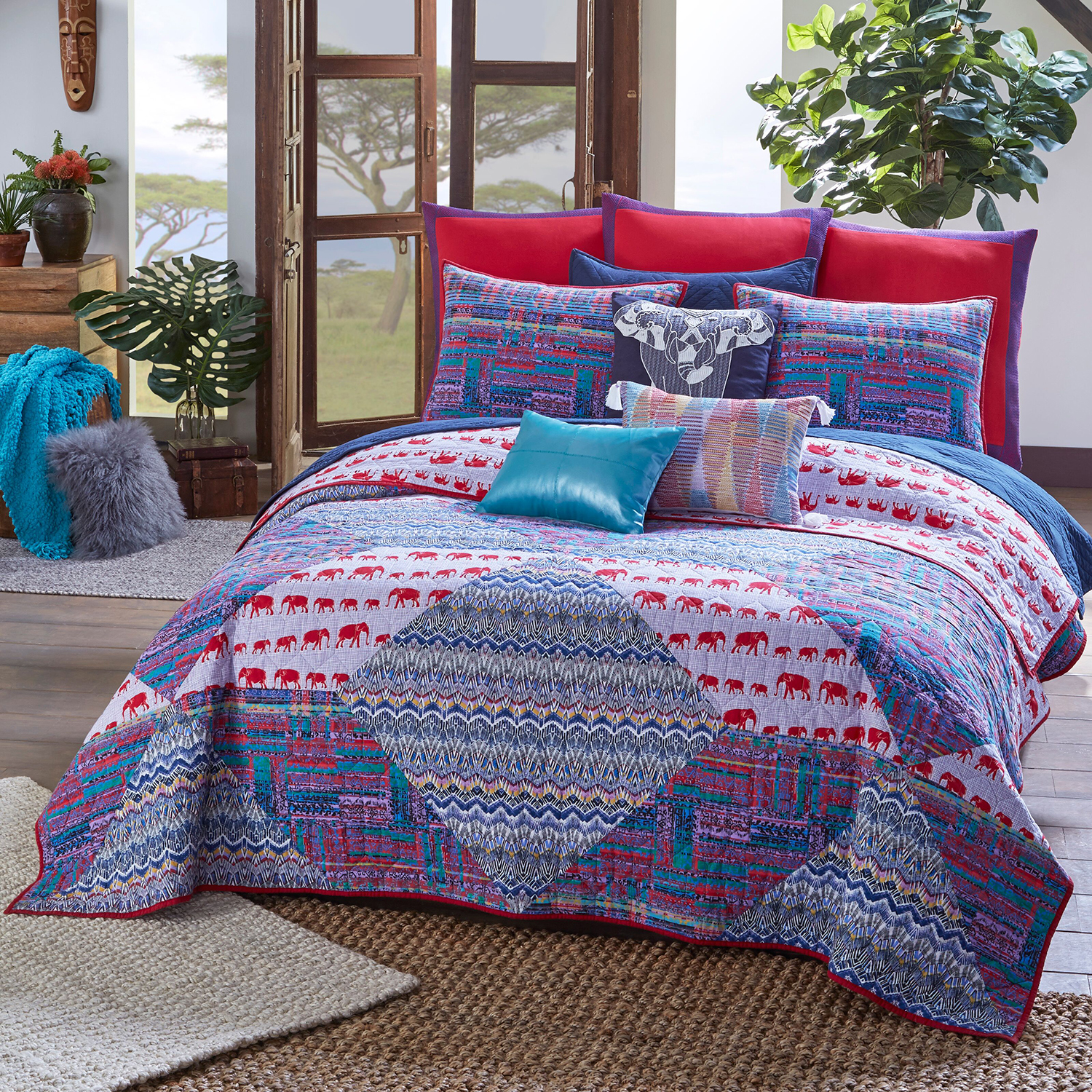 Tanzania Kambiya By Blissliving Home Bedding