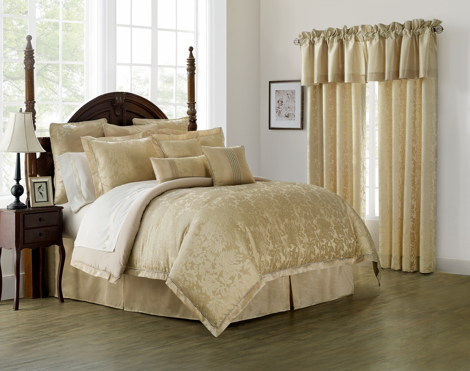 Gray King Yellow And Comforter Sets