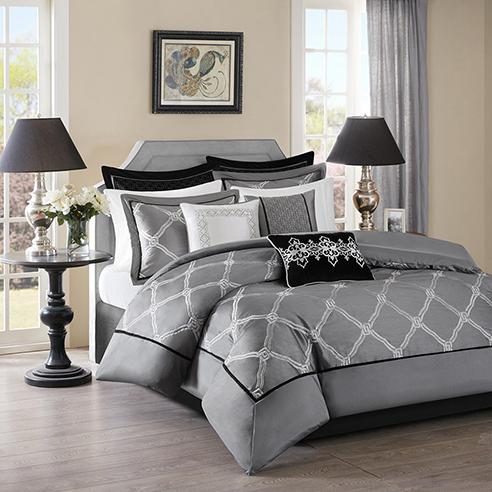 Teramo Grey By Bombay Bedding Beddingsuperstore Com