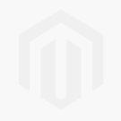 flora bolster cushion 30cm x 60cm blue