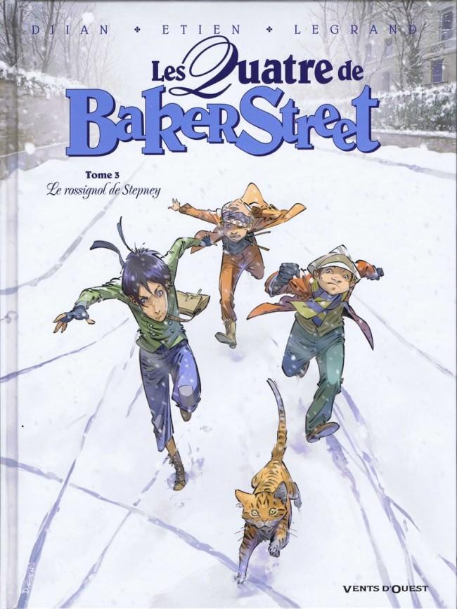Couverture de Les quatre de Baker Street -3- Le rossignol de Stepney