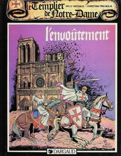 Le Templier de Notre-Dame - 4 tomes