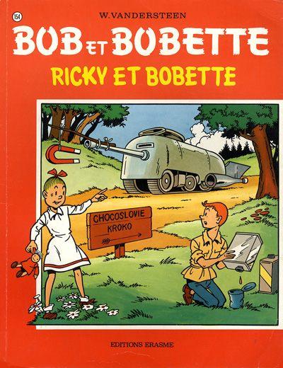 Couverture de Bob et Bobette -154- Ricky et Bobette