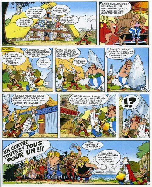 Asterix la Rosa e il Gladio