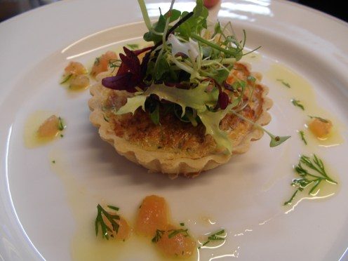 Smoked Salmon & Chive Tartlet