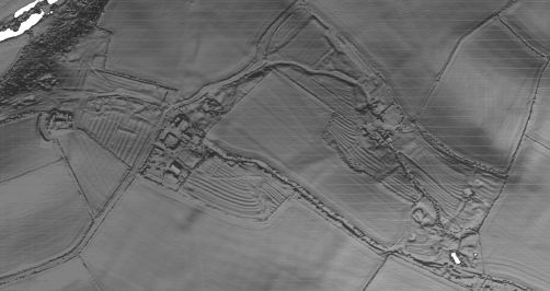 LiDAR for the Deserted Medieval Settlement in Chellington