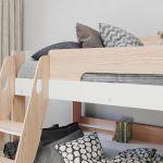 Flair Furnishing Flick Triple Bunk Bed Oak
