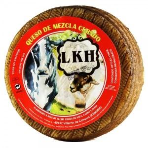 Queso Curado mezcla LKH Bedoya