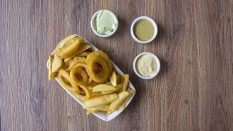 salsas patatas fritas