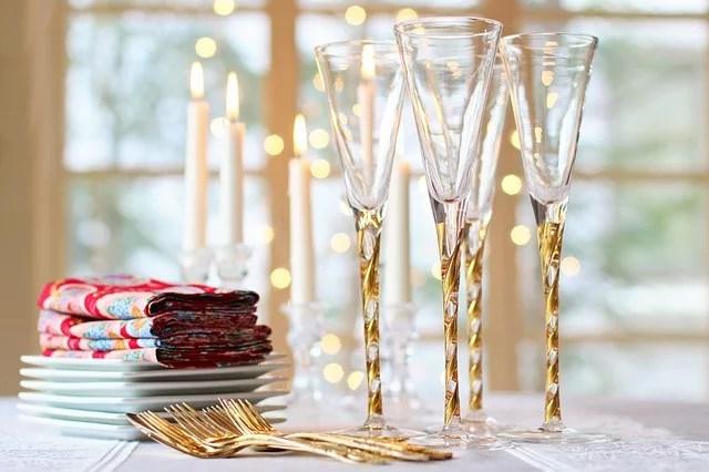 Como decorar la mesa de tu restaurante en navidad