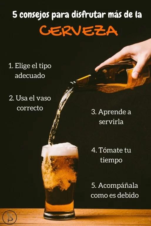 5 consejos para disfrutar de la cerveza