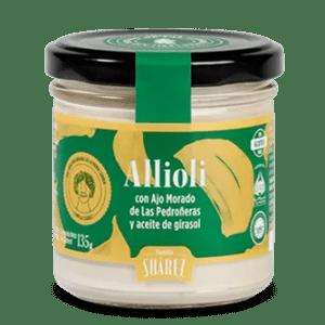 salsas alioli con aceite de girasol