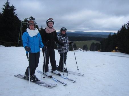 Mandy, Kirsten en Nanda in actie