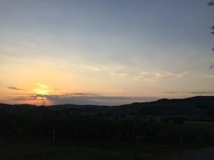 Zonsondergang Winterberg