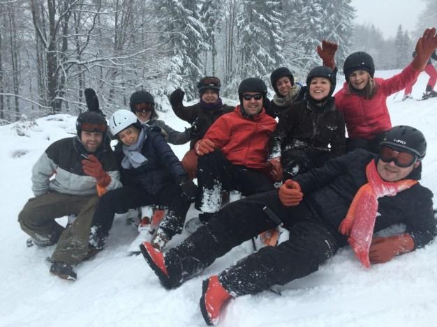 groepsuitje in winterberg