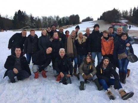 personeelsfeest in Winterberg met de kerst