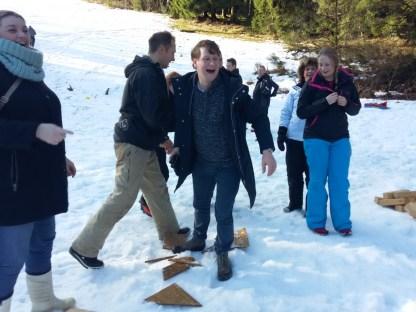 Actie in de sneeuw (50)