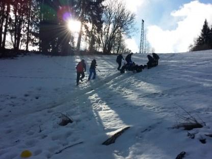 Actie in de sneeuw (58)