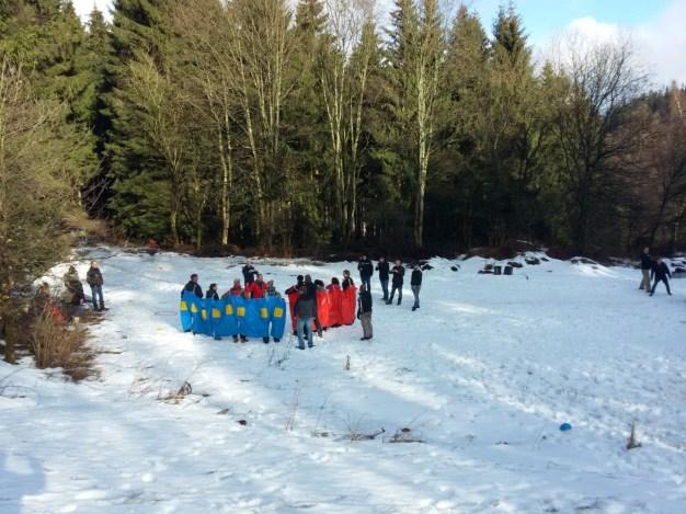 Actie in de sneeuw (66)
