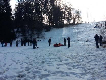 Actie in de sneeuw (70)