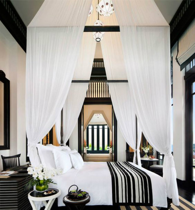 High ceiling bedroom design for High ceiling bedroom decorating ideas