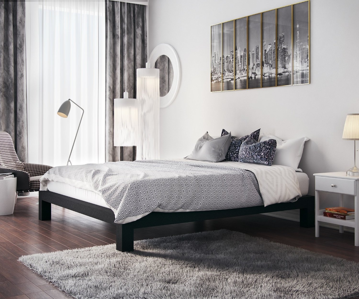 Image of Platform Bed